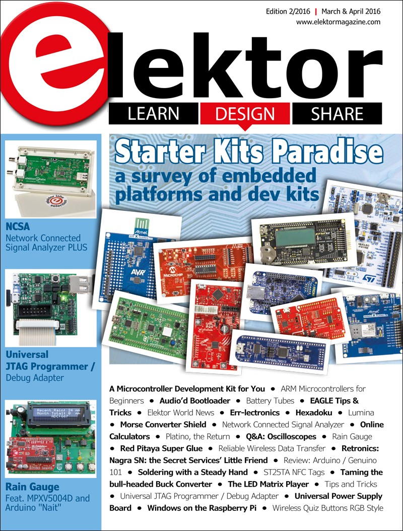Elektor Magazine March/April 2016 (EN)