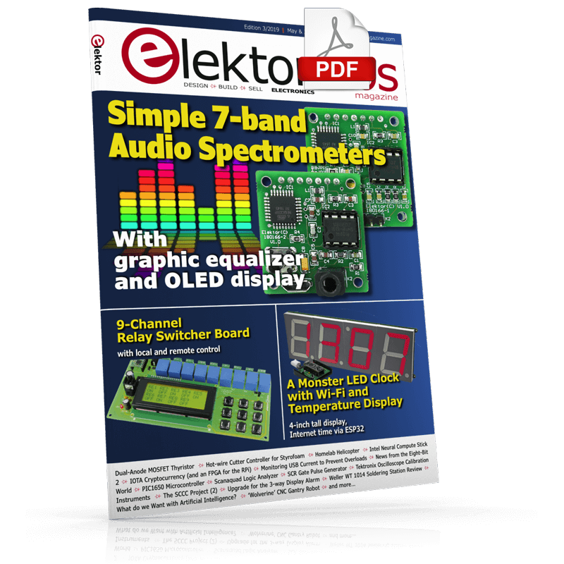 ElektorLabs Magazine May/June 2019 (PDF)
