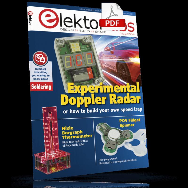 Elektor Magazine EN July/August 2018 (PDF)