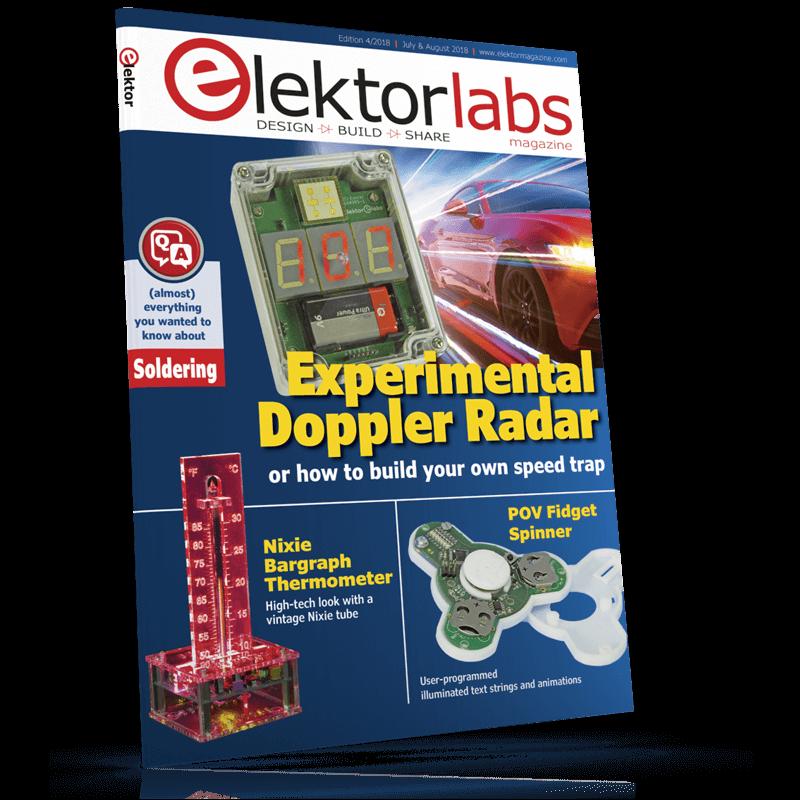Elektor Magazine EN July/August 2018