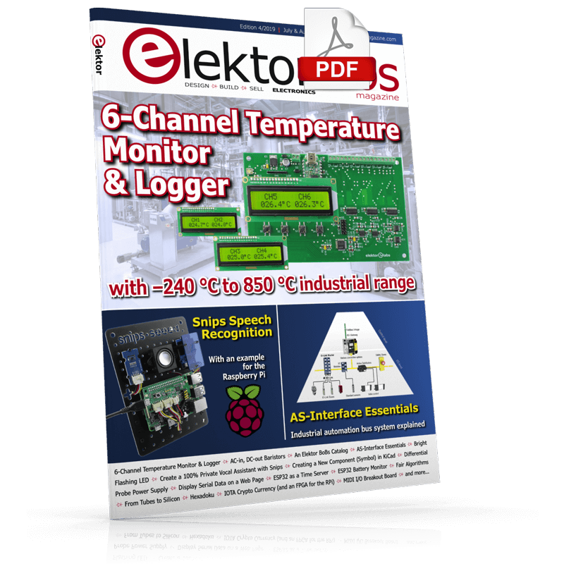 ElektorLabs July/August 2019 (PDF)