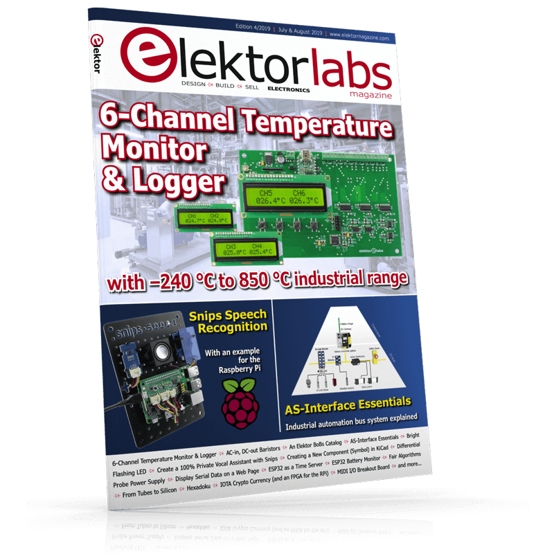 ElektorLabs July/August 2019 (Free Shipping)