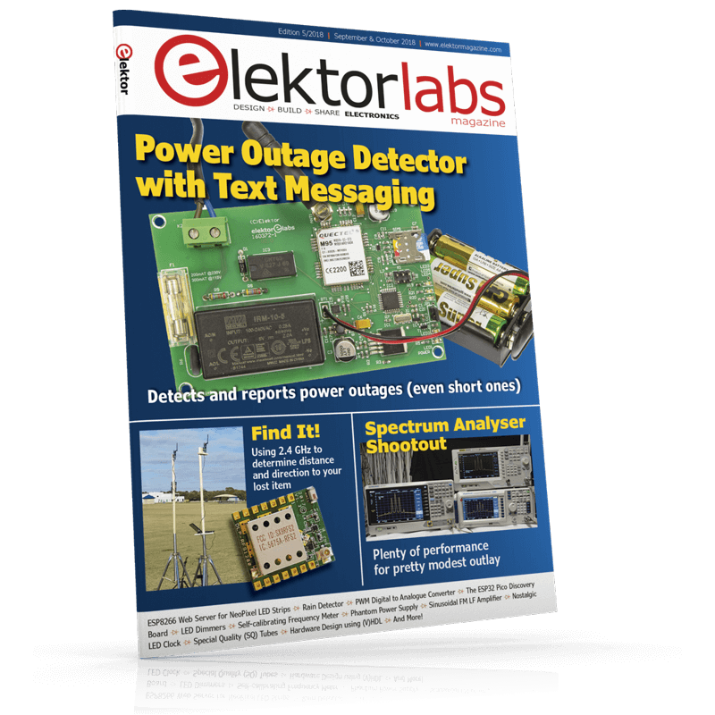 Elektor Magazine EN September/October 2018