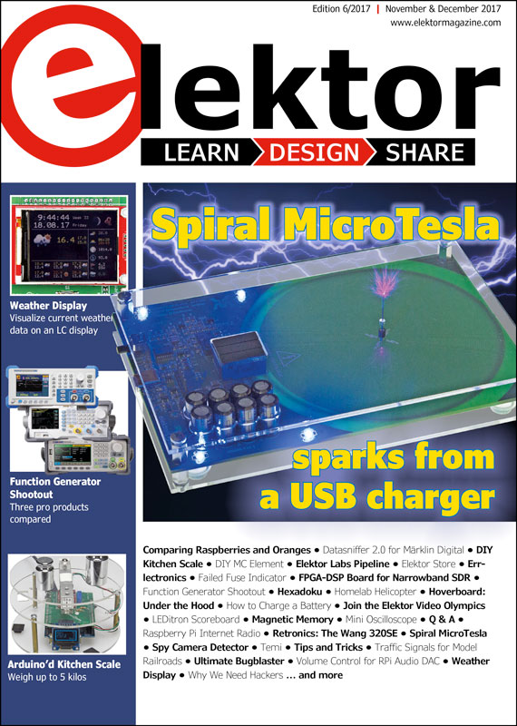 Elektor Magazine EN November/December 2017