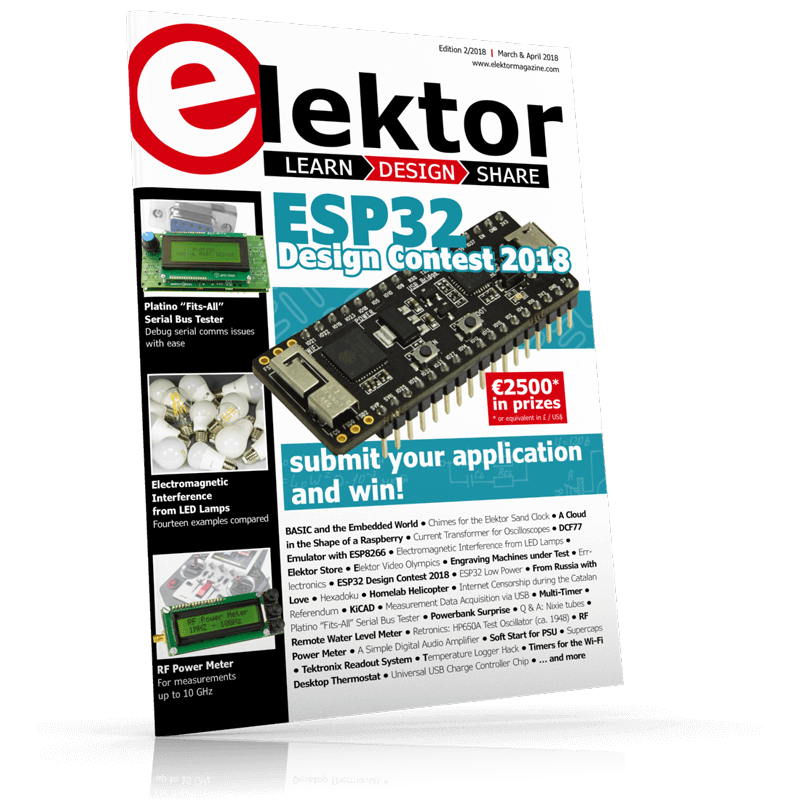 Elektor Magazine EN March/April 2018