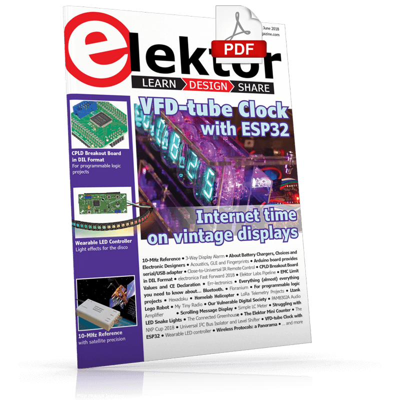 Elektor Magazine EN May/June 2018 (PDF)