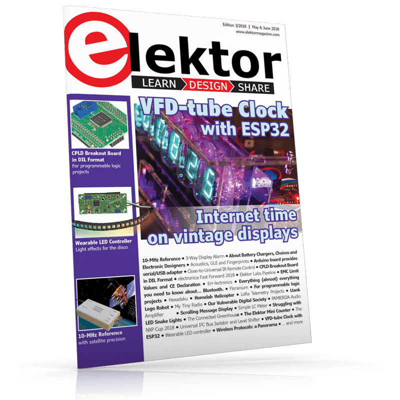 Elektor Magazine EN May/June 2018