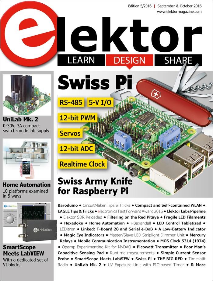 Elektor Magazine September/Oktober 2016 (EN)