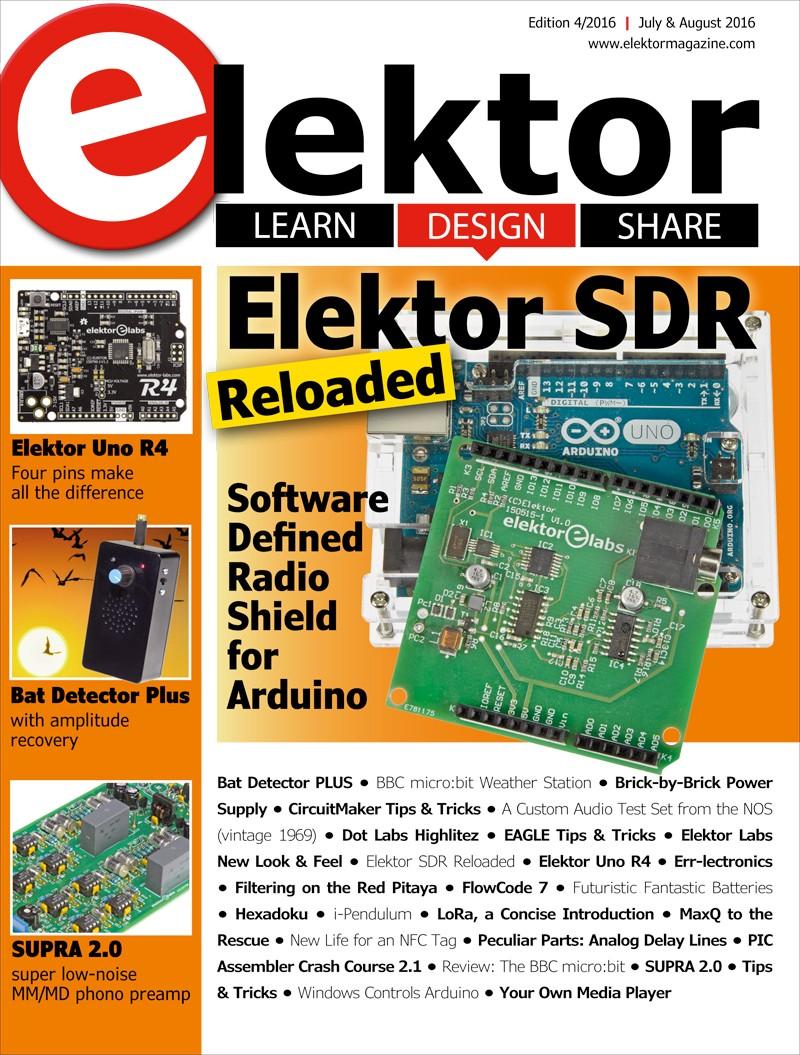 Elektor Magazine July/August 2016 (EN)