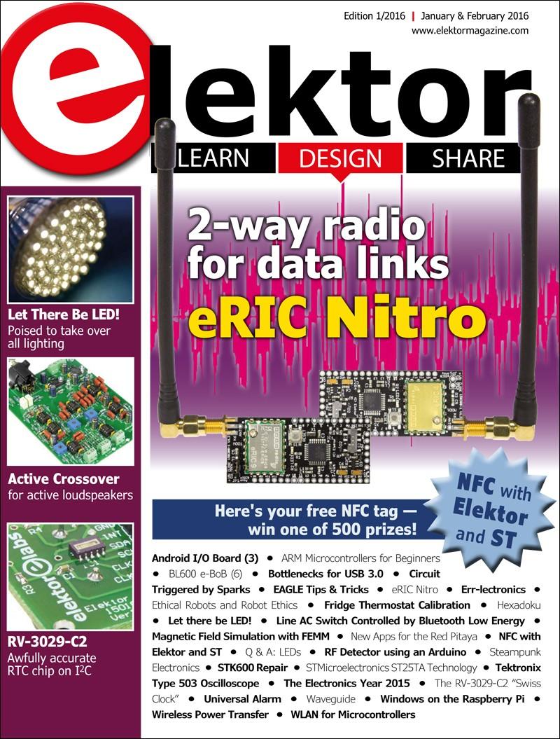Elektor Magazine January/February 2016 (EN)