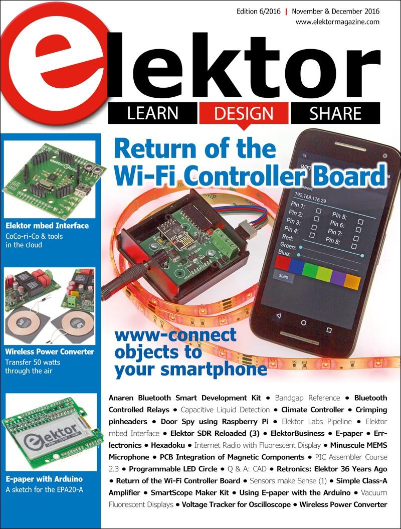 Elektor Magazine EN November/December 2016