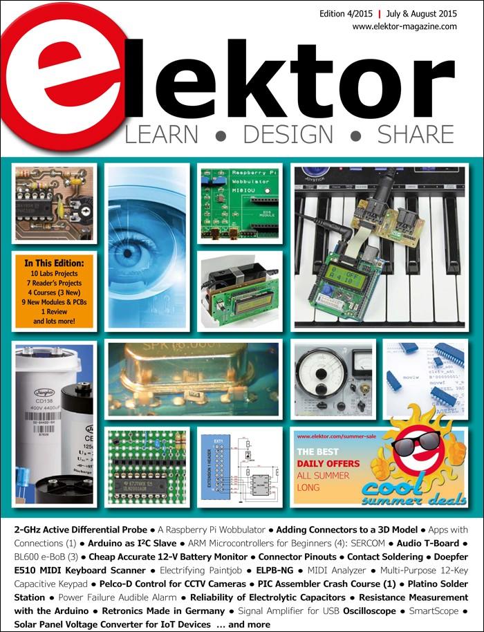 Elektor Magazine July/August 2015 (EN)