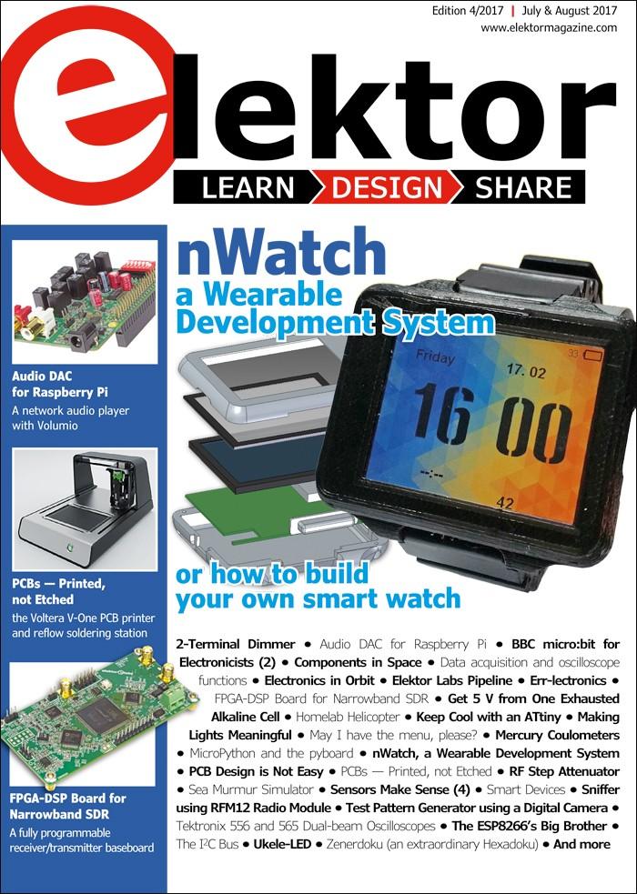 Elektor Magazine EN July/August 2017 (PDF)