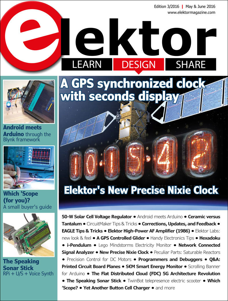 Elektor Magazine May/June 2016 (EN)
