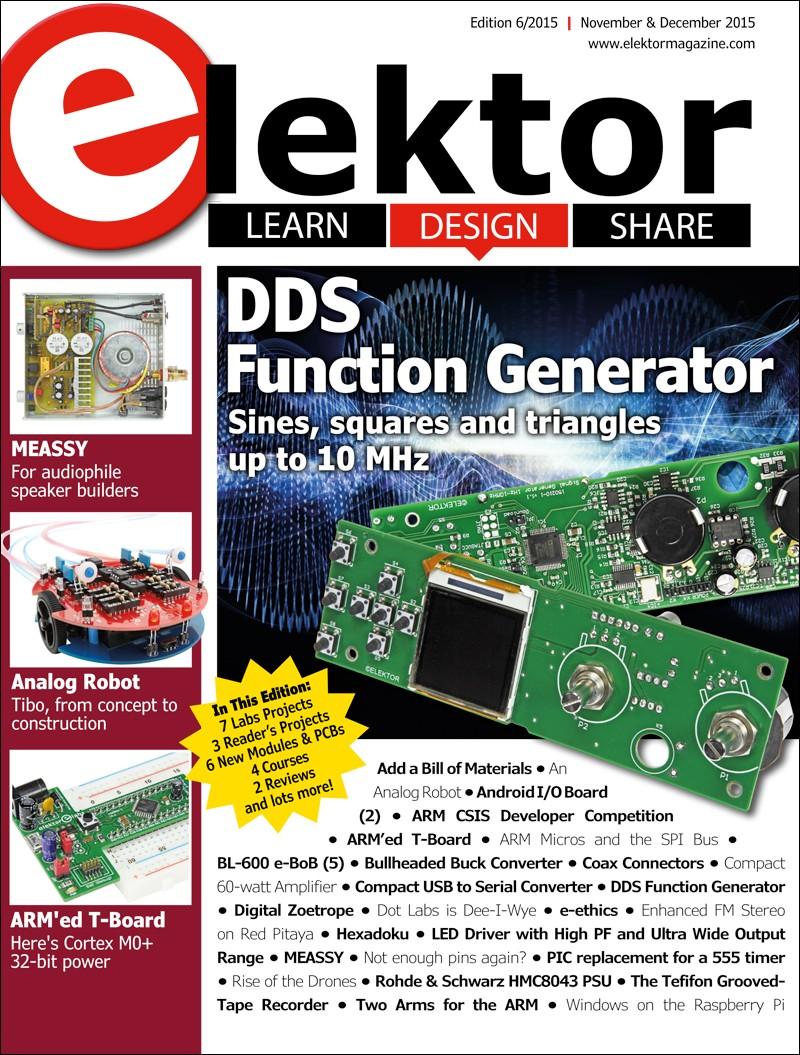 Elektor Magazine November/December 2015 (EN)