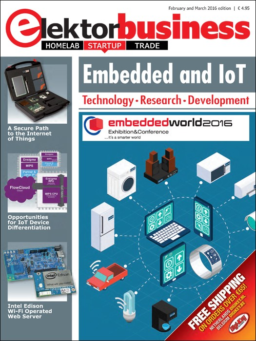 Elektor Business Embedded and IoT (2016)