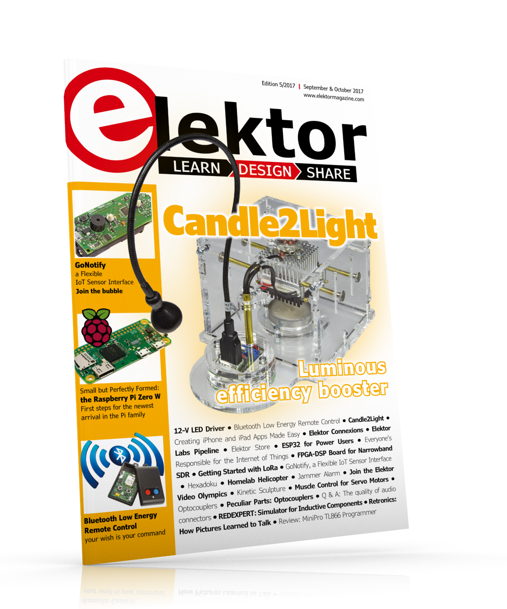 Elektor Magazine EN September/October 2017