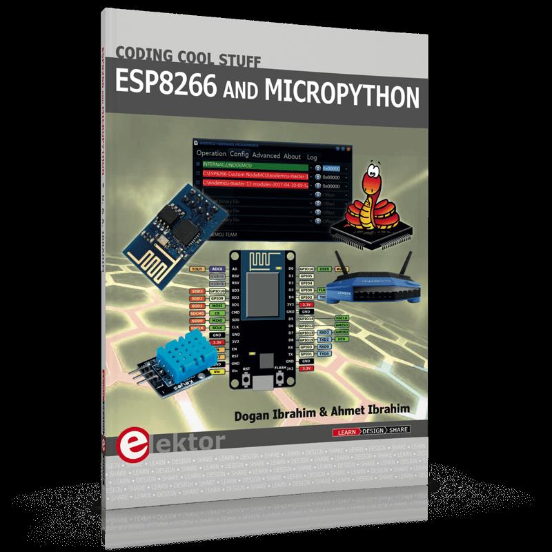 DCF77 emulator with ESP8266, Elektor LABS version (150713) - Elektor