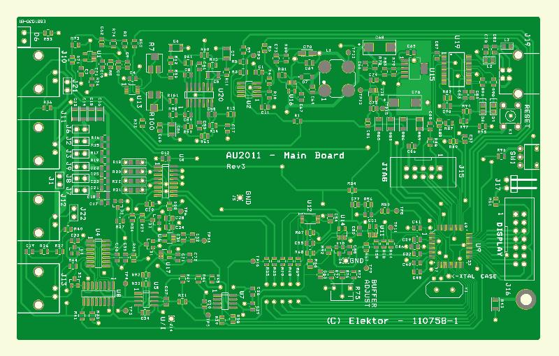 500 ppm LCR Meter (Main PCB 110758-1)