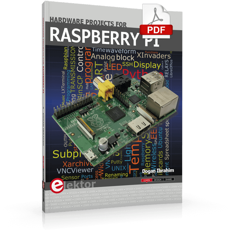 Hardware Projects for Raspberry Pi (E-book)