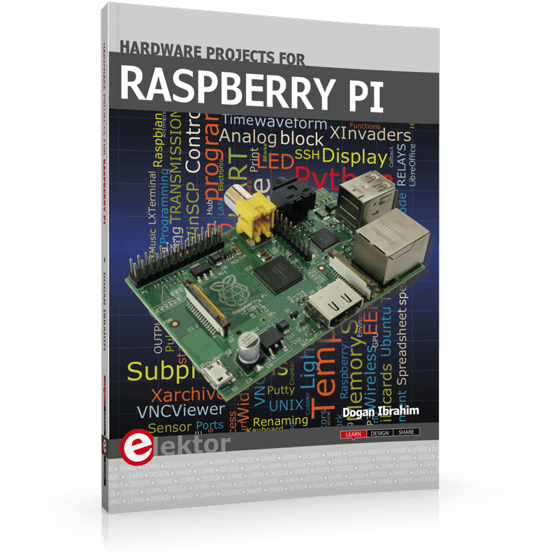 Hardware Projects for Raspberry Pi