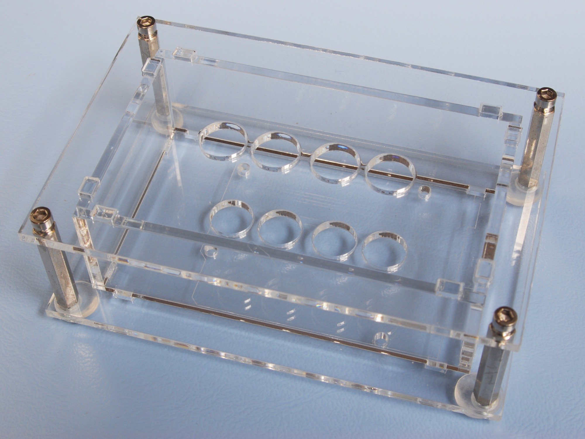 Acrylic glass case for VFD Shield for Arduino (150064-72)