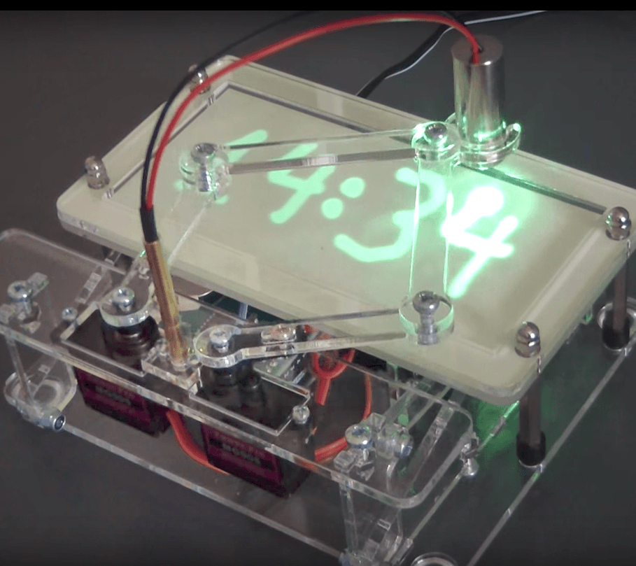 Laser Time Writer (upgrade kit for the Sand Clock)