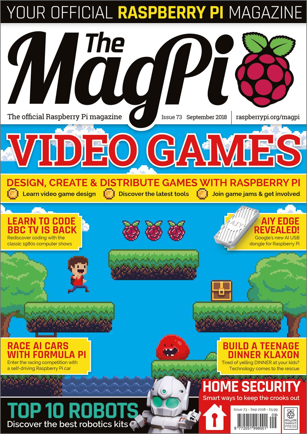 The MagPi 73 (September 2018)
