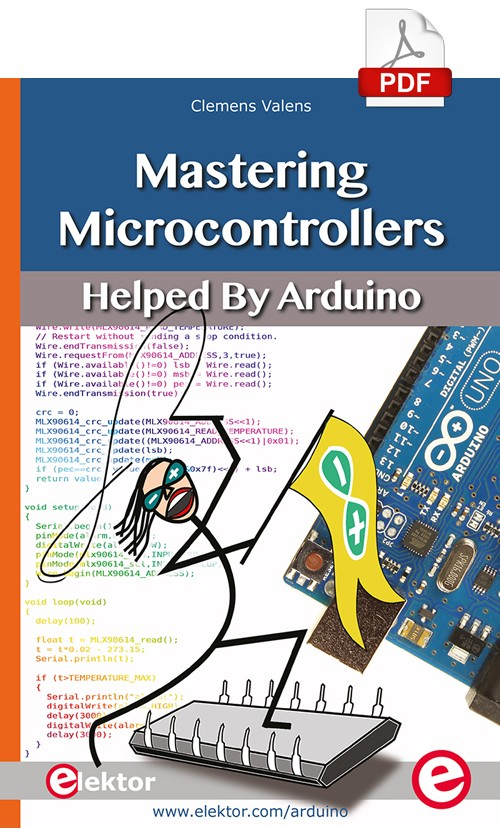 Mastering Microcontrollers Helped by Arduino Chapter 11 (E-book)