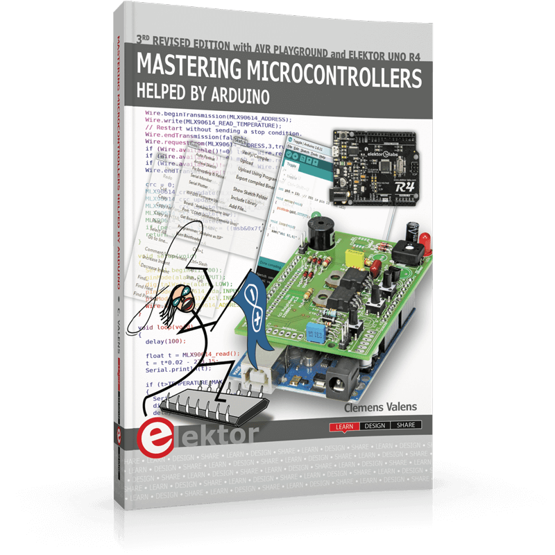 Mastering Microcontrollers Helped by Arduino (3rd Edition)