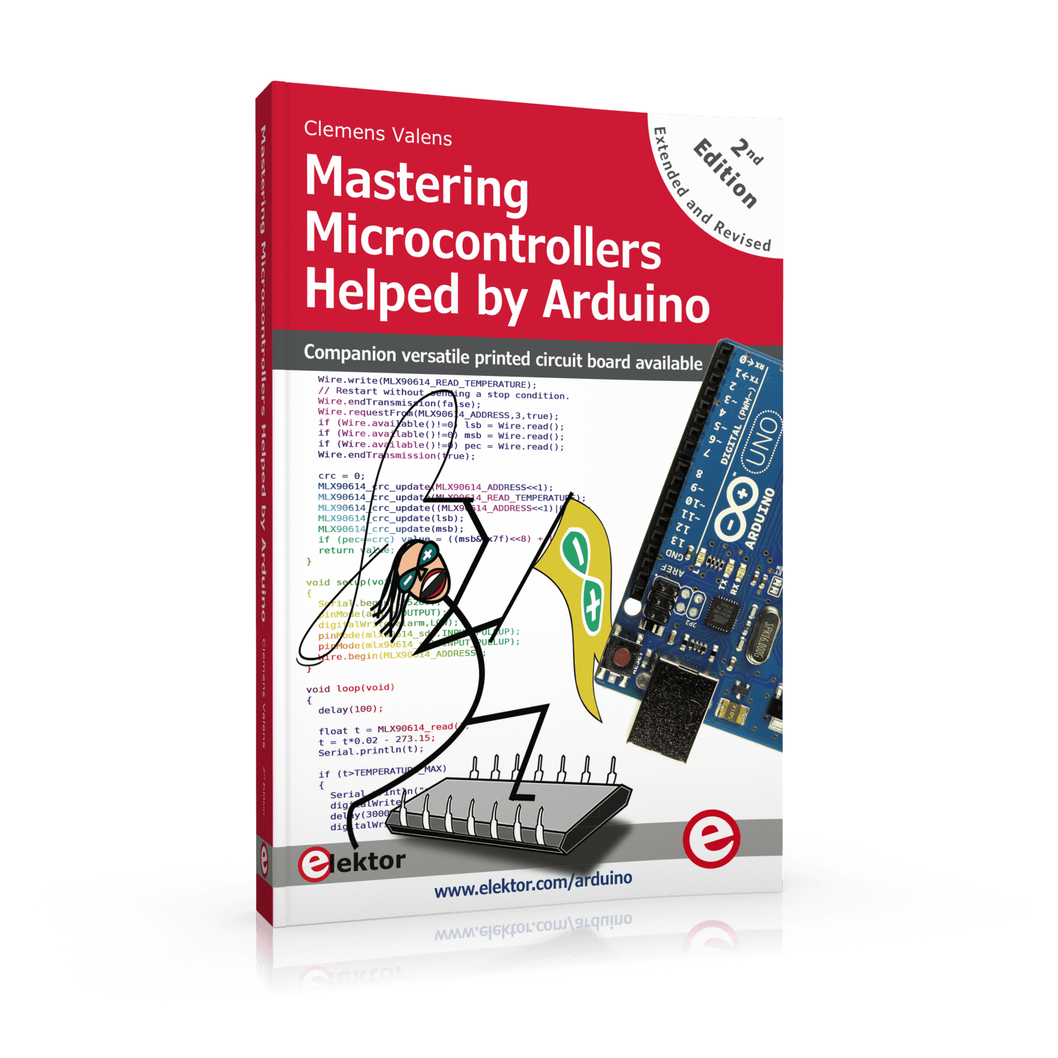 Mastering Microcontrollers Helped by Arduino (2nd Edition)