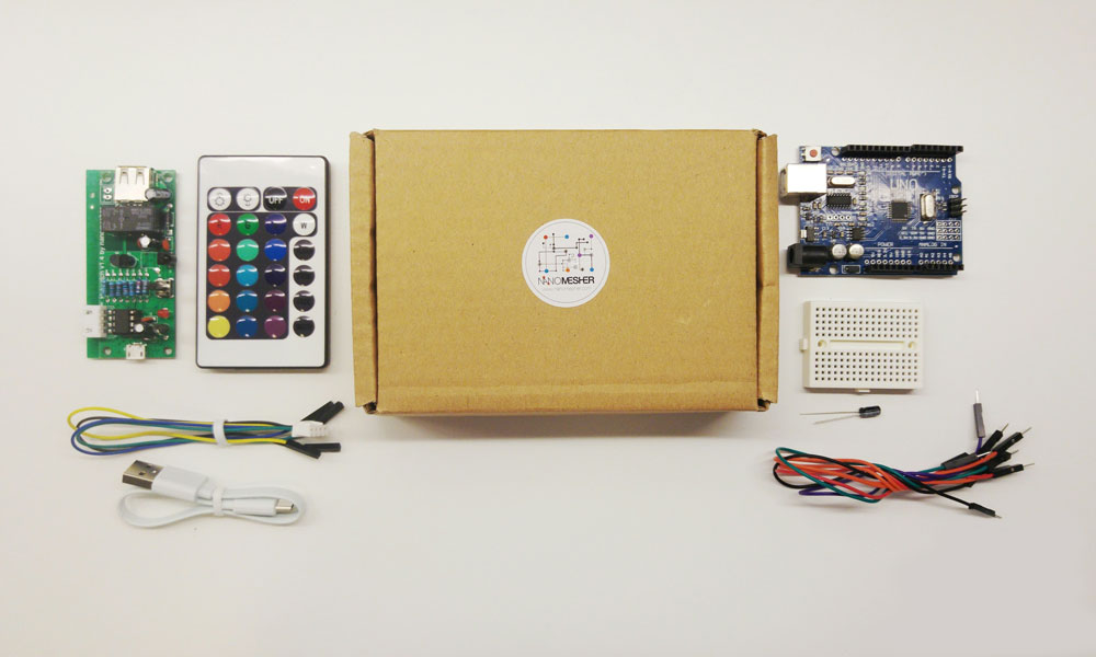 Nanomesher RPi Power Switch with Remote Control & Programmer