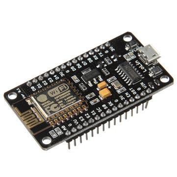 NodeMCU microcontroller board with ESP8266 and Lua