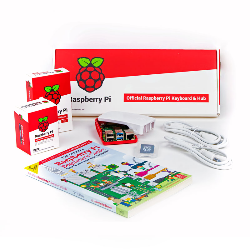 Official EU Raspberry Pi 4 Desktop Kit