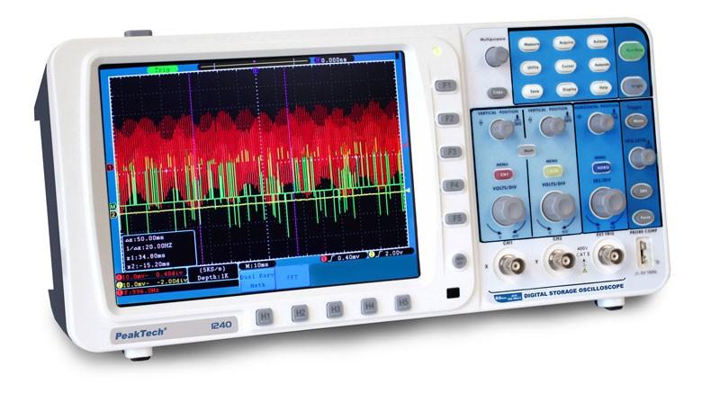 PeakTech 1240 Oscilloscope