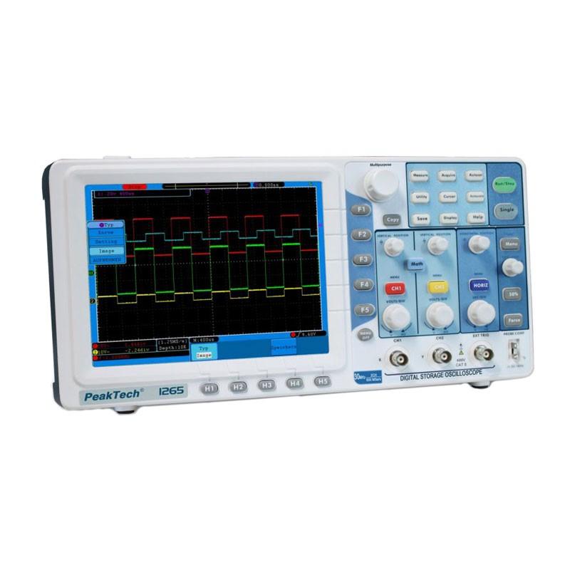 PeakTech Oscilloscope 1265