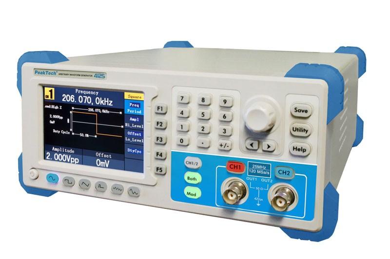 PeakTech 4125 Arbitrary Waveform Generator