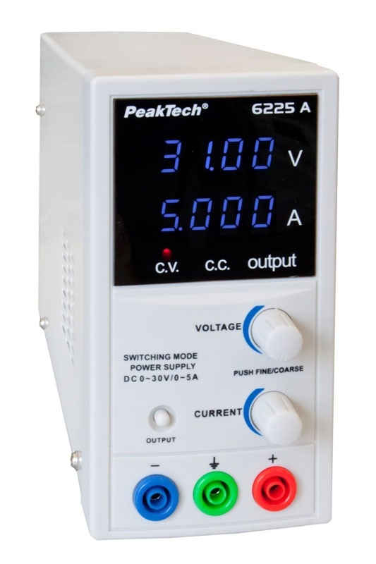 PeakTech 6225 A DC Power Supply (30 V, 5 A)