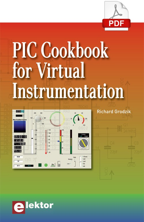 E-book: PIC Cookbook for Virtual Instrumentation