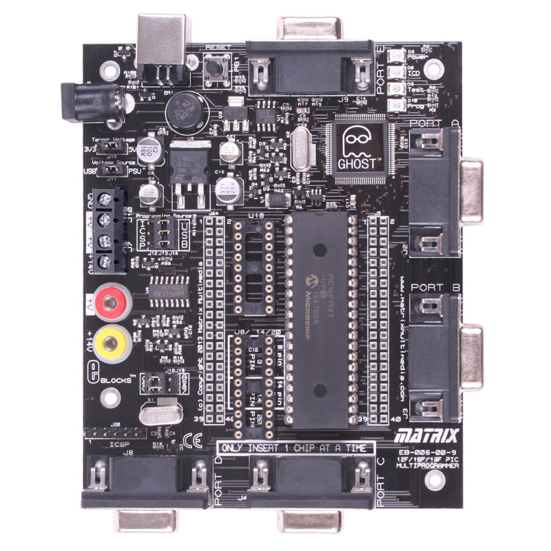 PIC Multiprogrammer V9 (EB006)