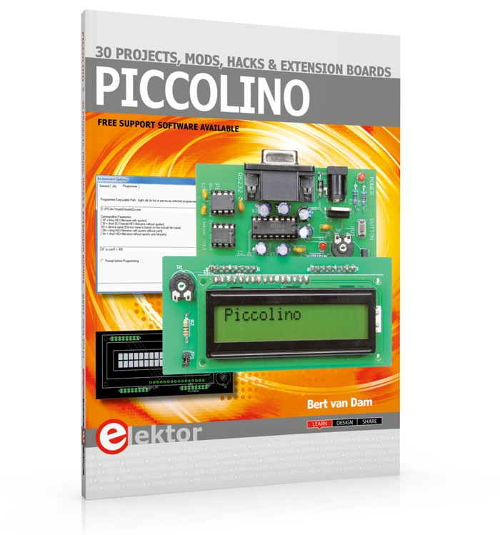 Piccolino – 30 Projects, Mods, Hacks and Extension Boards