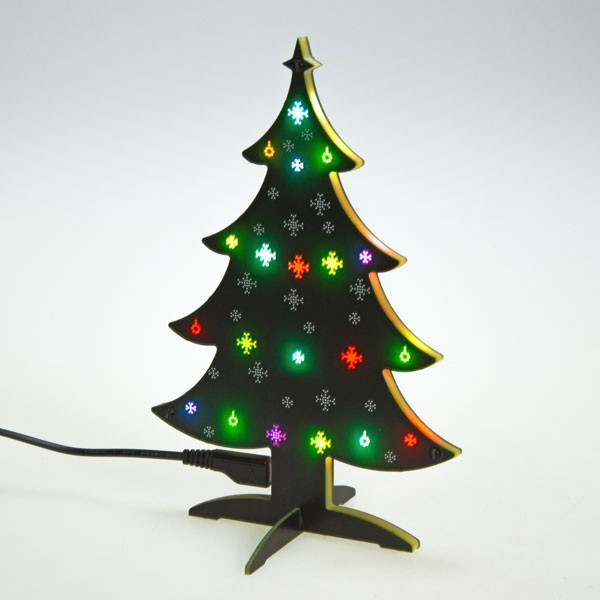 Programmable Christmas Tree with 20 RGB LEDs