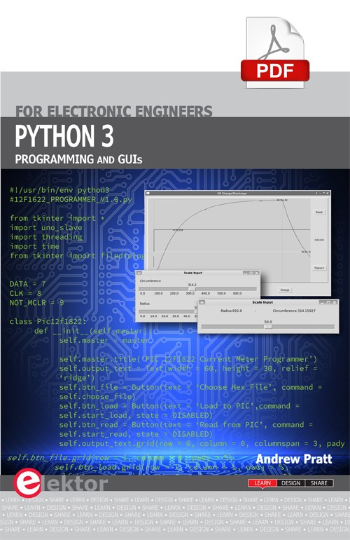 E-book: Python 3 Programming and GUIs