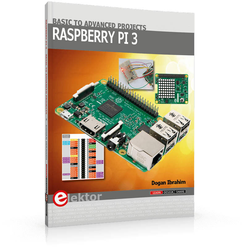 Raspberry Pi 3 – Basic to Advanced Projects