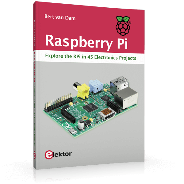 Raspberry Pi - Explore the RPi in 45 electronic Projects