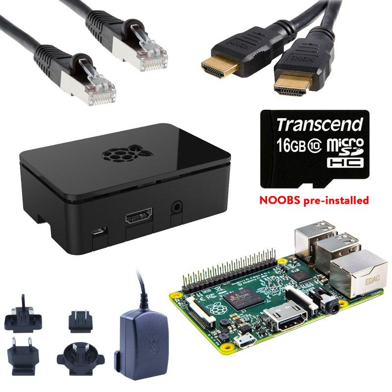 Raspberry Pi 3 Starter Kit (Deluxe) + FREE RPi Compilation