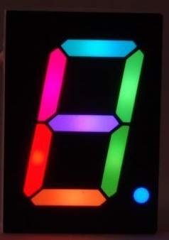 RGB Digit 7-Segment display - 160100-71