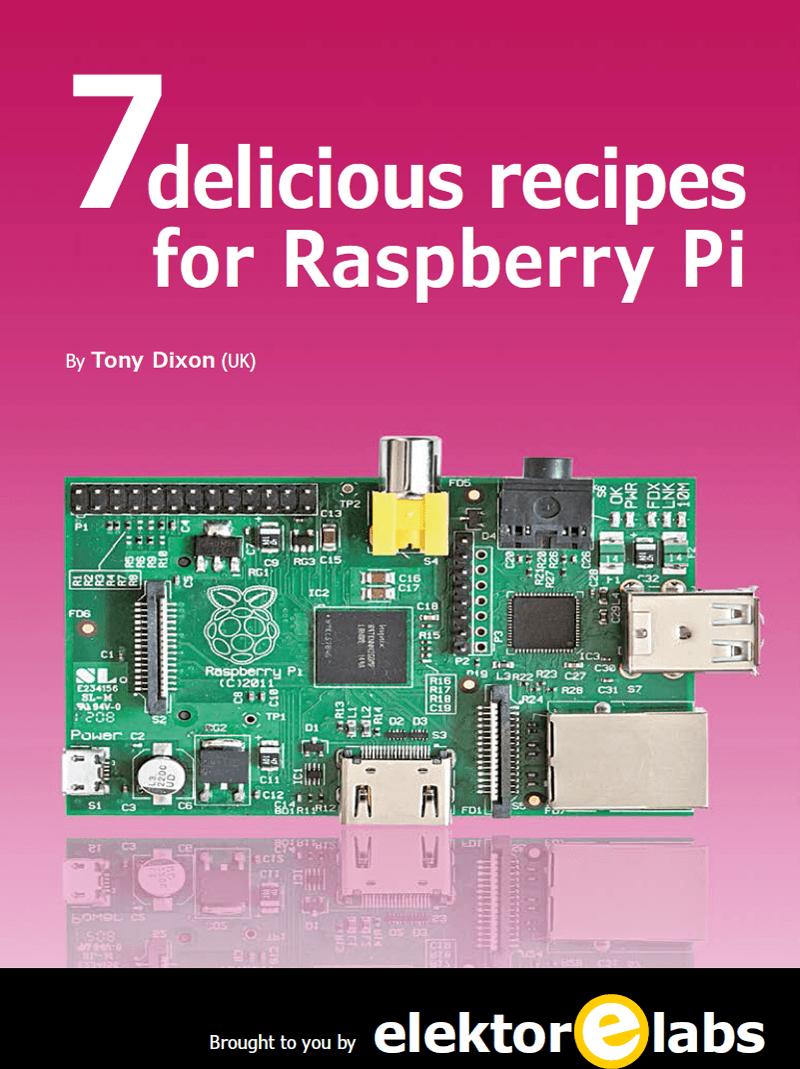7 Delicious Recipes for Raspberry Pi (PDF)