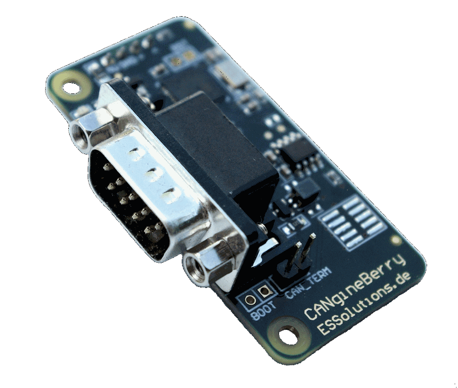 CANgineBerry – Active CANcrypt and CANopen module for RPi