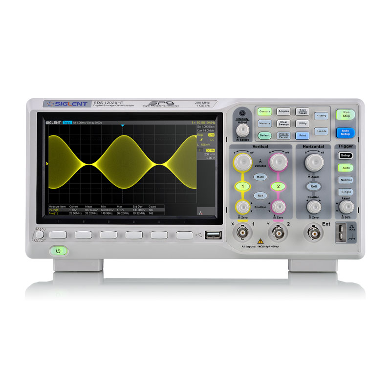 Siglent Oscilloscope SDS1202X-E (200 MHz)